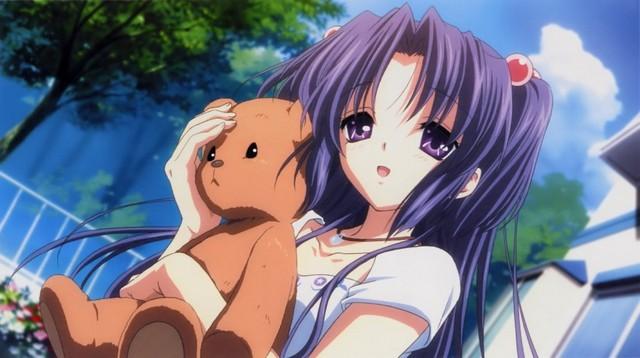 Ichinose Kotomi. El abrazo del oso