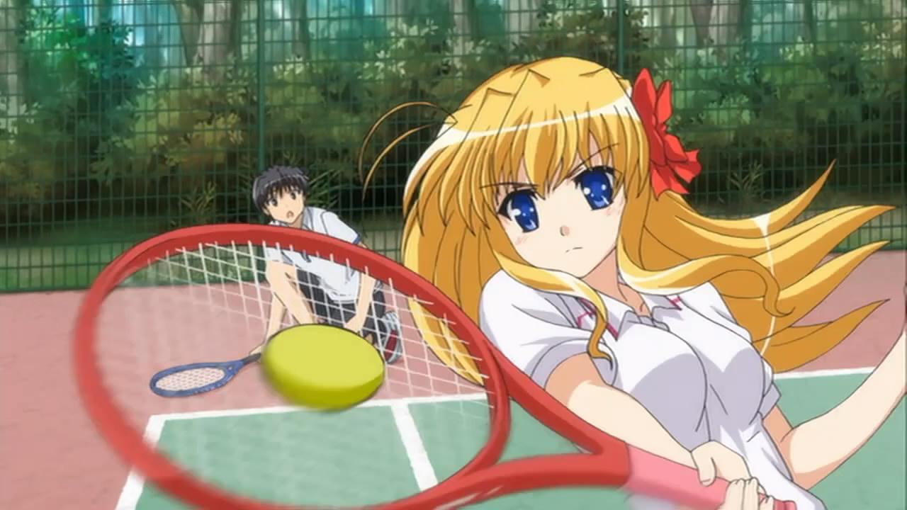 fortune arterial akai yakusoku ova la princesa del tennis